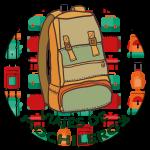 viajes de mochileros