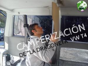 """Camperización de la """"Dragoneta"""" VW T4"""