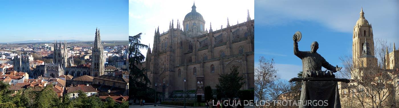 Burgos, Salamanca y Segovia